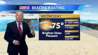 Tuesday night will be cool, but it won't be that way when you wake up.Subscribe to WCVB on YouTube for more: http://bit.ly/2526UpSGet more Boston news: http://www.wcvb.comLike us: https://www.facebook.com/wcvb5Follow us: https://twitter.com/WCVBGoogle+: https://plus.google.com/+wcvb
