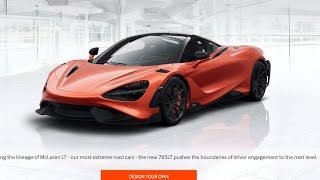 Livestream - Spec out the 765LT with Pricing by DragTimes