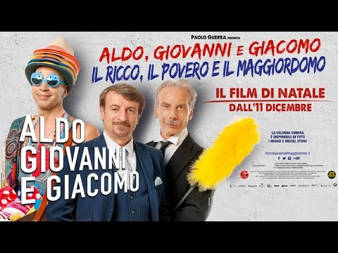 Preview Trailer Il ricco, il povero e il maggiordomo