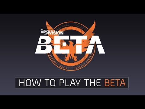 Tom Clancy's The Division – How to play the Beta – HD Gameplay Trailer