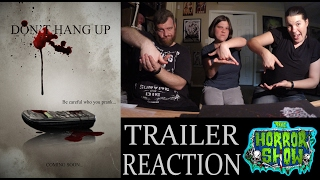 """Nonton """"Don't Hang Up"""" 2017 Trailer Reaction - The Horror Show Film Subtitle Indonesia Streaming Movie Download"""