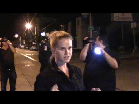 Alice Eve Has Trouble Finding Her Ride In West Hollywood