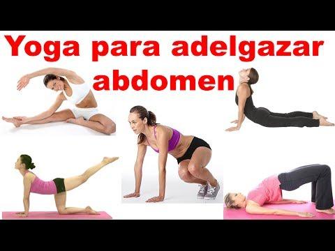 Yoga para adelgazar abdomen – Ejercicios para bajar la barriga