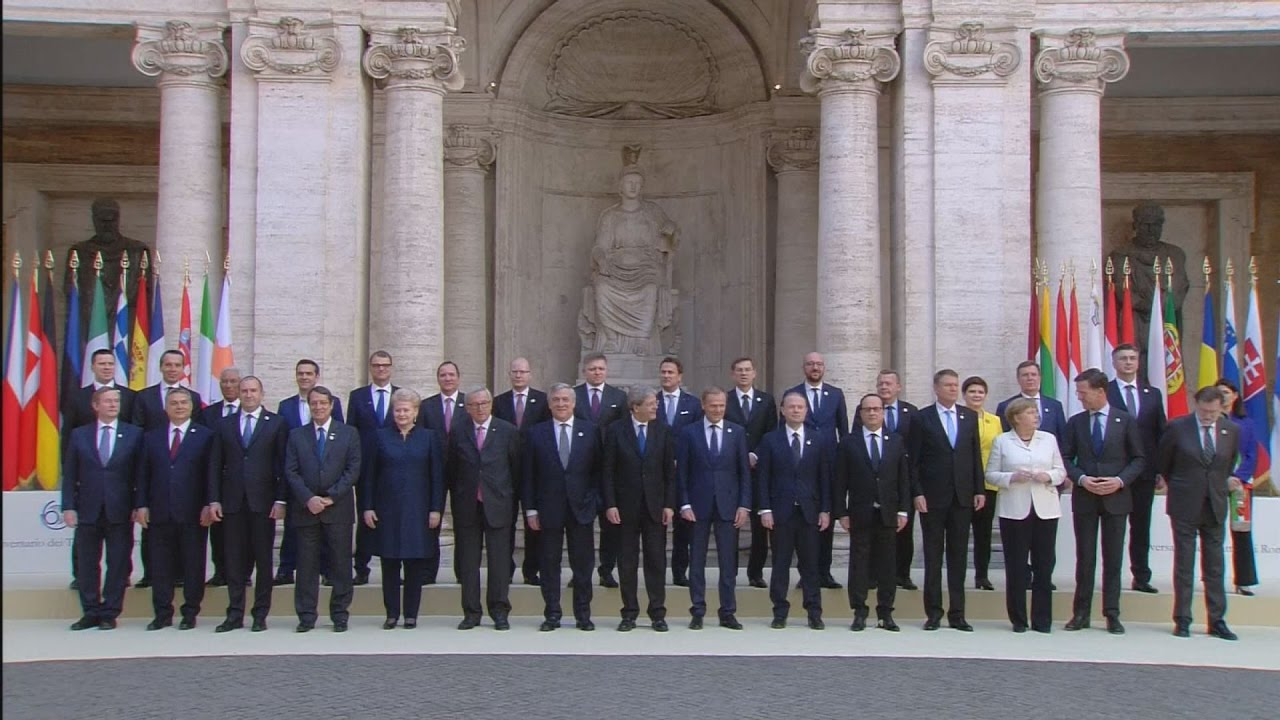 Οι «27» υπέγραψαν την Συνθήκη της Ρώμης