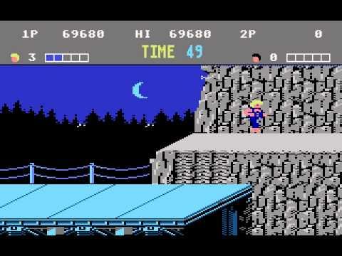 Atari 7800 Game:  Double Dragon (1989 Activision, Inc)