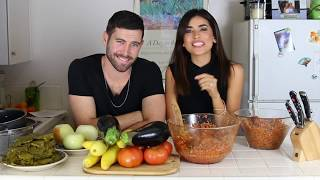 Happy Thanksgiving! Today's Stevie and Sazan video will share one of our favorite Kurdish cuisines that I picked up from my mom - DOLMA! One of my favorite ...