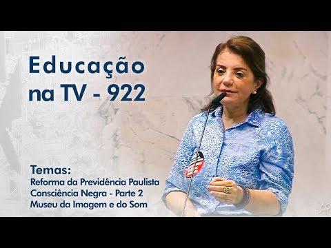 Reforma da Previdência Paulista | Consciência Negra - Parte2 | Museu da Imagem e do Som