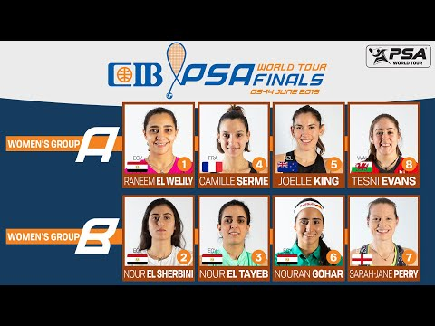 Squash: Women's Road to Cairo - CIB PSA World Tour Finals 2018/19