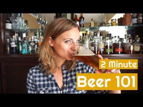 Beer 101   Your 2 Minute Beer Crash Course