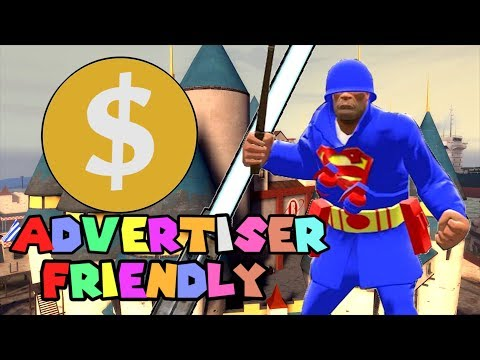 What an Advertiser Friendly TF2 Video looks like