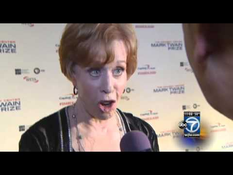 Carol Burnett receives Mark Twain Prize for American Humor at Kennedy Center
