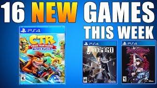 16 NEW PS4 GAMES THIS WEEK - 𝗡𝗲𝘄 𝗥𝗲𝗹𝗲𝗮𝘀𝗲𝘀 𝗼𝗻 𝗣𝗦𝟰 (Playstation News)