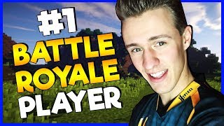 #1 MINECRAFT BATTLE ROYALE PLAYER!?