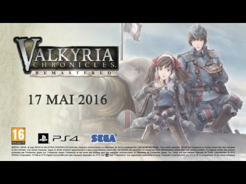 Valkyria Chronicles Remastered en vidéo