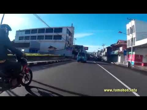 Video Pusat Kota Tomohon Pagi Hari