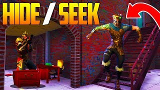 HIDE AND SEEK in salty springs In Fortnite Battle Royale Gameplay