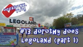 Dorothy does Legoland (part 1)