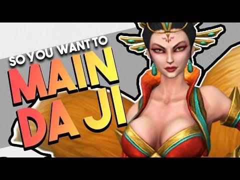 So You Want to Main Da Ji | Builds | Counters | Combos & More! (Da Ji SMITE Guide)