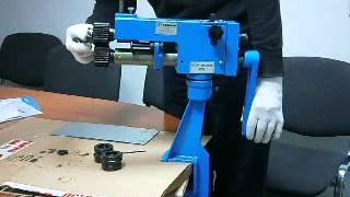 Ручной зиговочный станок TZ 08 (RM-08) MetalMaster