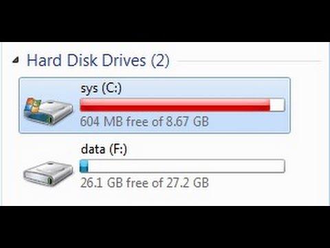 Cara ampuh mengatasi local disk c atau drive c penuh (HD)