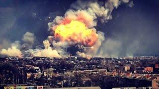 Big explosion in the Ukraine - Happening now