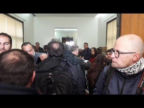 Εισβολή των εργαζομένων της ΠΟΕ – ΟΤΑ στο Υπουργείο Οικονομικών…