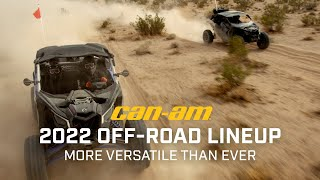 2022 Can-Am Off-Road Lineup