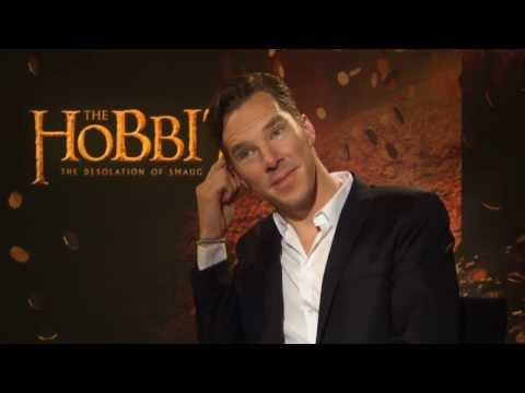 Benedict Cumberbatch - Subscribe to TheShowbiz411! http://goo.gl/SsI4eN Star of The Hobbit: The Desolation of Smaug, Benedict Cumberbatch ponders the mystery of whether dragons hav...