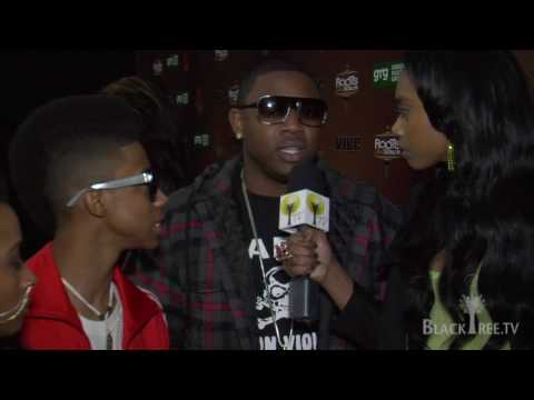 blacktreemedia - http://www.blacktree.tv Mack Maine, Lil' Twist and Shanell hit the red carpet and prepare to hit the stage for the GRAMMY Awards 6th Annual Jam Session prese...