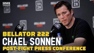 Video Chael Sonnen Talks Retirement After Bellator 222: 'I Fired my Last Bullet' - MMA Fighting MP3, 3GP, MP4, WEBM, AVI, FLV Juni 2019
