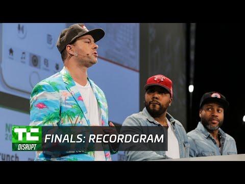 RecordGram TechCrunch Disrupt NYC 2017 Winning Pitch