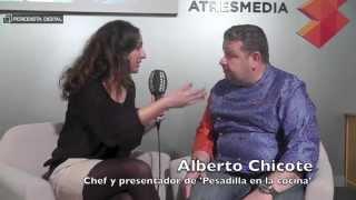 """Alberto Chicote: """"El espectador disfruta cuando ve que yo lo paso muy mal"""""""