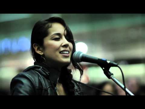 Message From your heart - Kina Grannis @ St. Pancreas Intl. Station Session