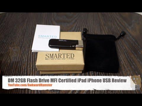 DM 32GB Flash Drive MFI Certified iPad iPhone USB Review