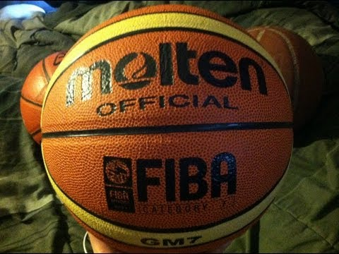 Molten Official GM7 FIBA Basketball Review and Test