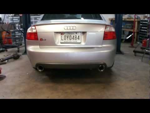 Audi S4 RAI Custom Exhaust
