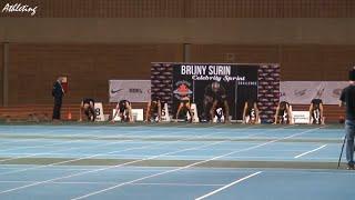2015 Track And Field #ACIndoorOpen: Bruny Surin Celebrities 60 Meters