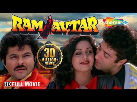 Video Ram Avtar (HD) - Sunny Deol | Sridevi | Anil Kapoor - Superhit Hindi Movie With Eng Subtitles download in MP3, 3GP, MP4, WEBM, AVI, FLV January 2017