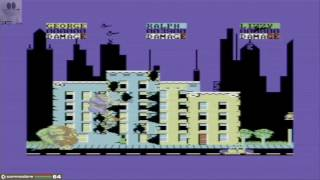 Rampage (Commodore 64 Emulated) by GTibel
