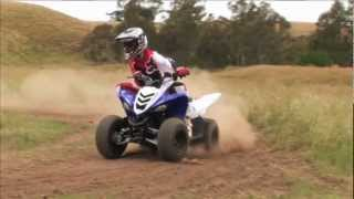 3. MXTV Bike Review - Yamaha Raptor 90