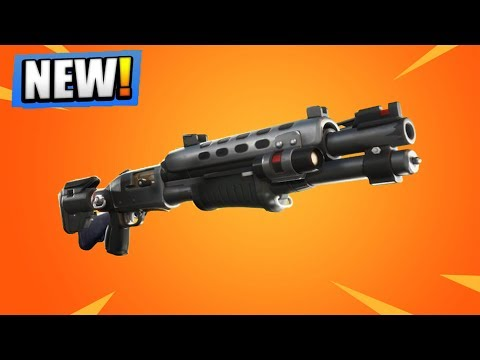 The NEW LEGENDARY TACTICAL SHOTGUN! (Fortnite Battle Royale)