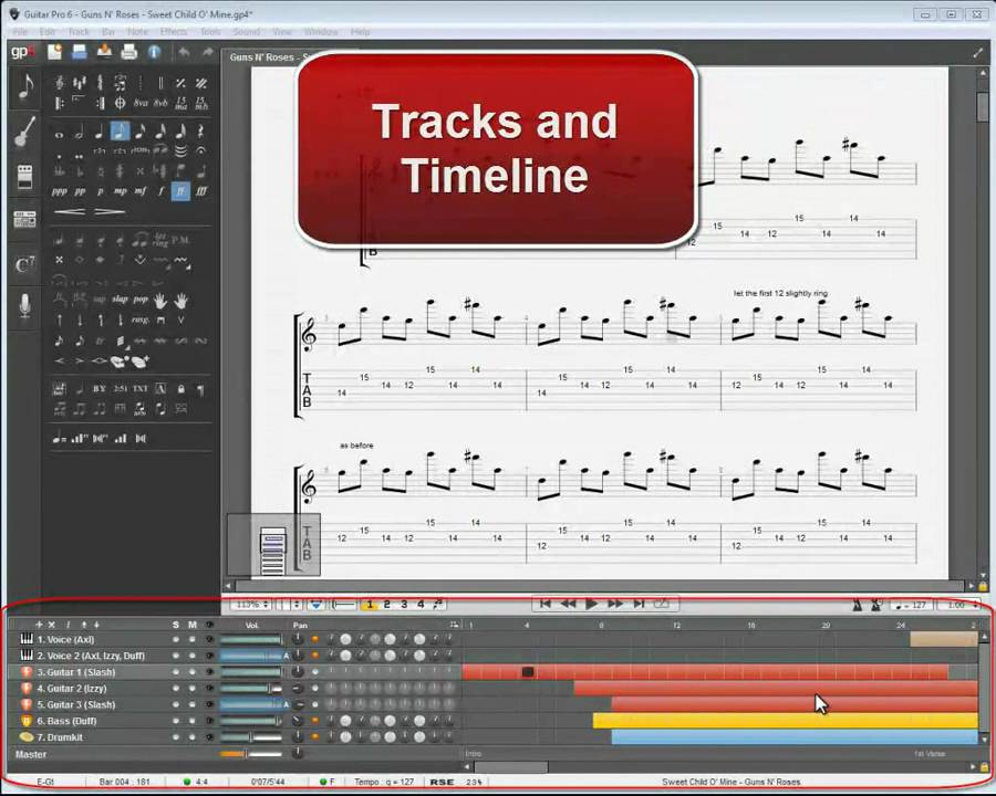 Guitar Pro 6 Tutorial for Beginner Guitar Students – PART 1.