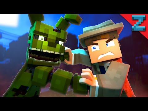 """Follow Me"" [VERSION B] FNAF Minecraft Animated Music Video (Song by TryHardNinja)"