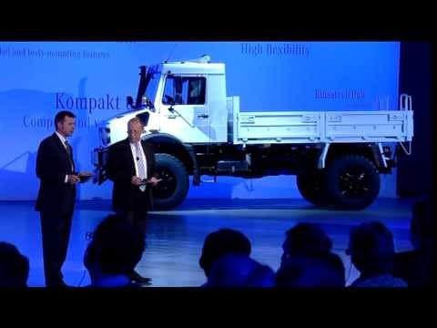 2014 Mercedes Benz Unimog U4023 & U5023   New Generation of Off Road Trucks