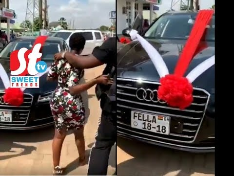 Medikal Buys Two New Cars For Fella Makafui After Her Ex Seized Her Old Cars - Full Story