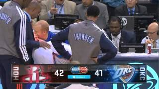 Russell Westbrook / Patrick Beverly beef Thunder-Rockets Game 2