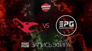 Mousesports vs EPG, DreamLeague Season 7, game 1 [Lex, LightOfHeaven]