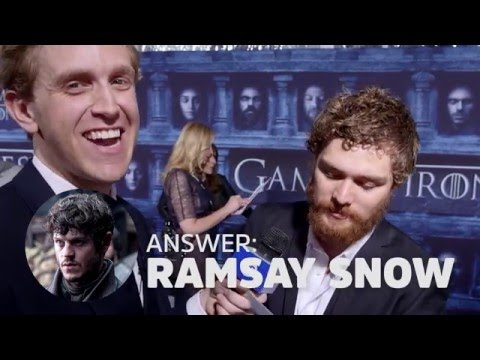 The Game of Thrones Cast Plays Game Of Butts