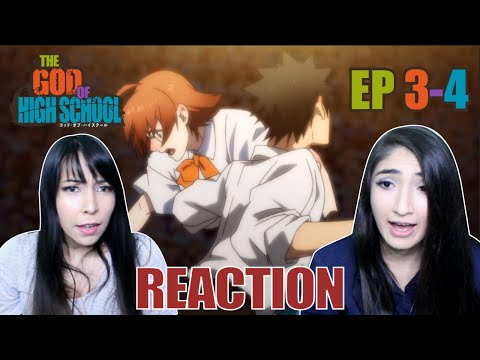 Onto the Semi-Finals! Tensions Rise!! | God of High School Episodes 3-4 Reaction Highlights