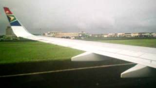 Douala  International Airport From The  Ground -Cameroon Scenery